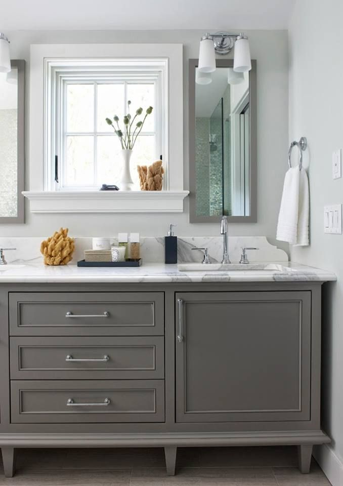 What Paint Color Goes With Gray Bathroom Vanity