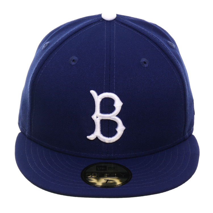 Style 24767 New Era 59fifty Fitted Hat Royal Crown Visor Green Undervisor Team 1955 57 Logo Embroidered On Front 100 Polyester New Era 59fifty Hats New Era