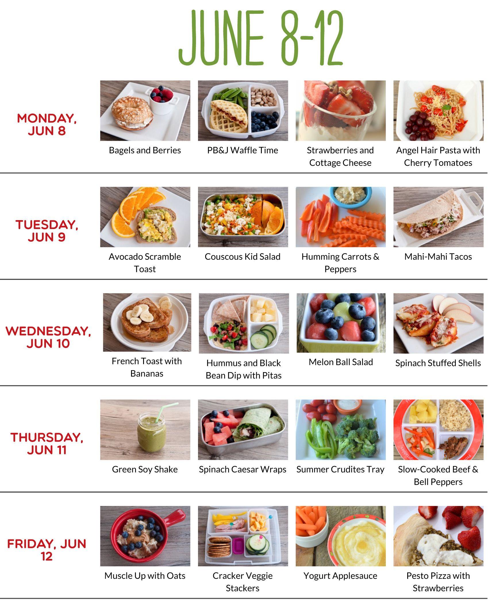 Toddler meal plan idea also kiddie foods pinterest meals rh