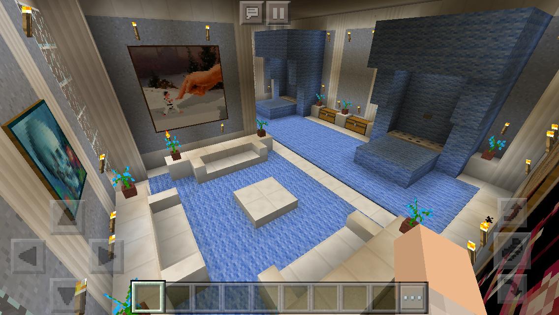 My Mansion- Minecraft Gentlemen's Guest Bedroom