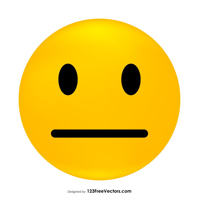 neutral face emoji free vectors pinterest emoji and