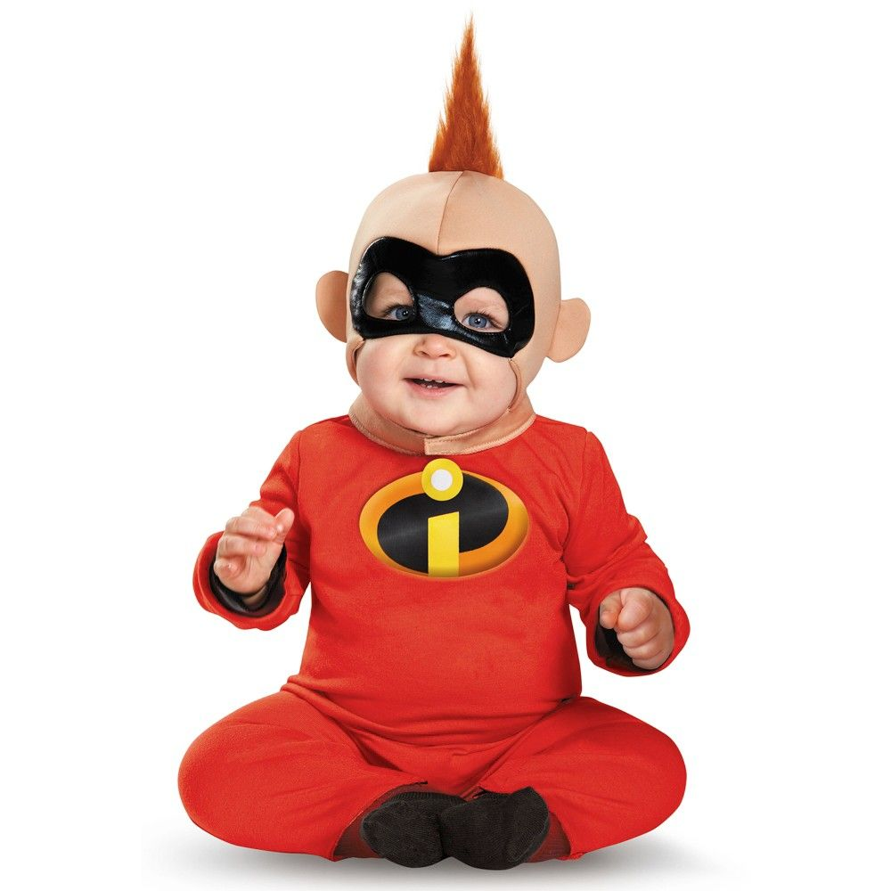 Baby The Incredibles Baby Jack Jack Parr Deluxe Halloween Costume 6 12m Multicolored Boy Costumes Baby Costumes For Boys Deluxe Halloween Costumes