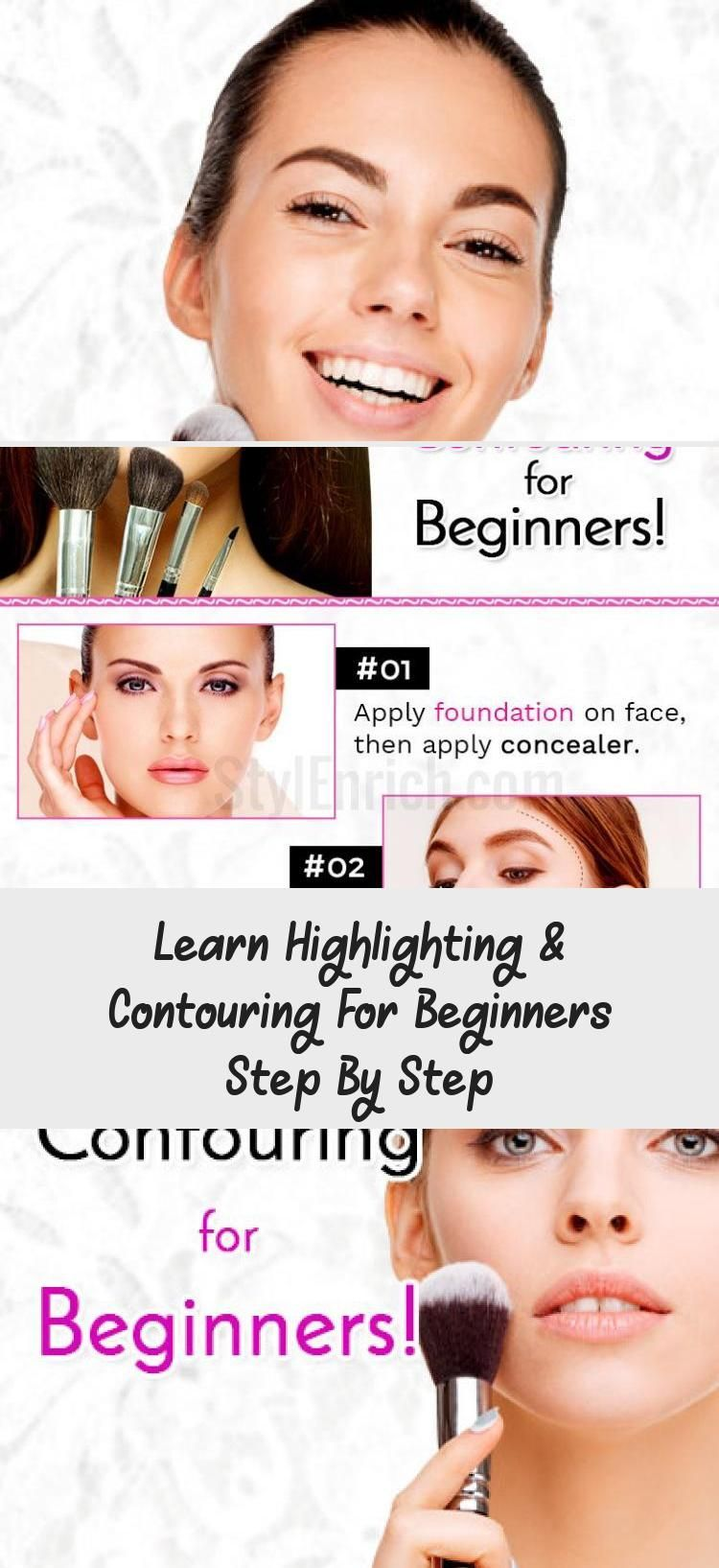 Learn Highlighting & Contouring For Beginners Step By Step