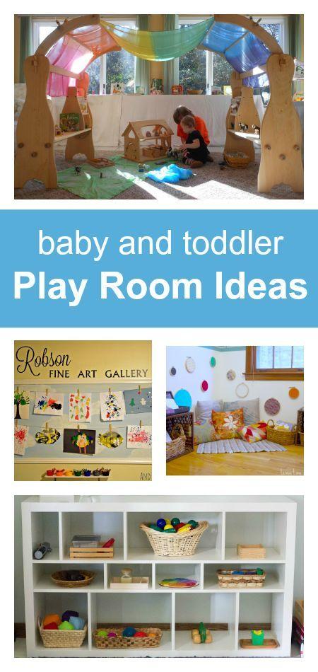 Baby Play Room Ideas, Toddler Play Room Ideas, Simple Nursery Ideas