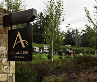 Resort Near Portland Oregon Wine Country Lodging Allison Inn Spa