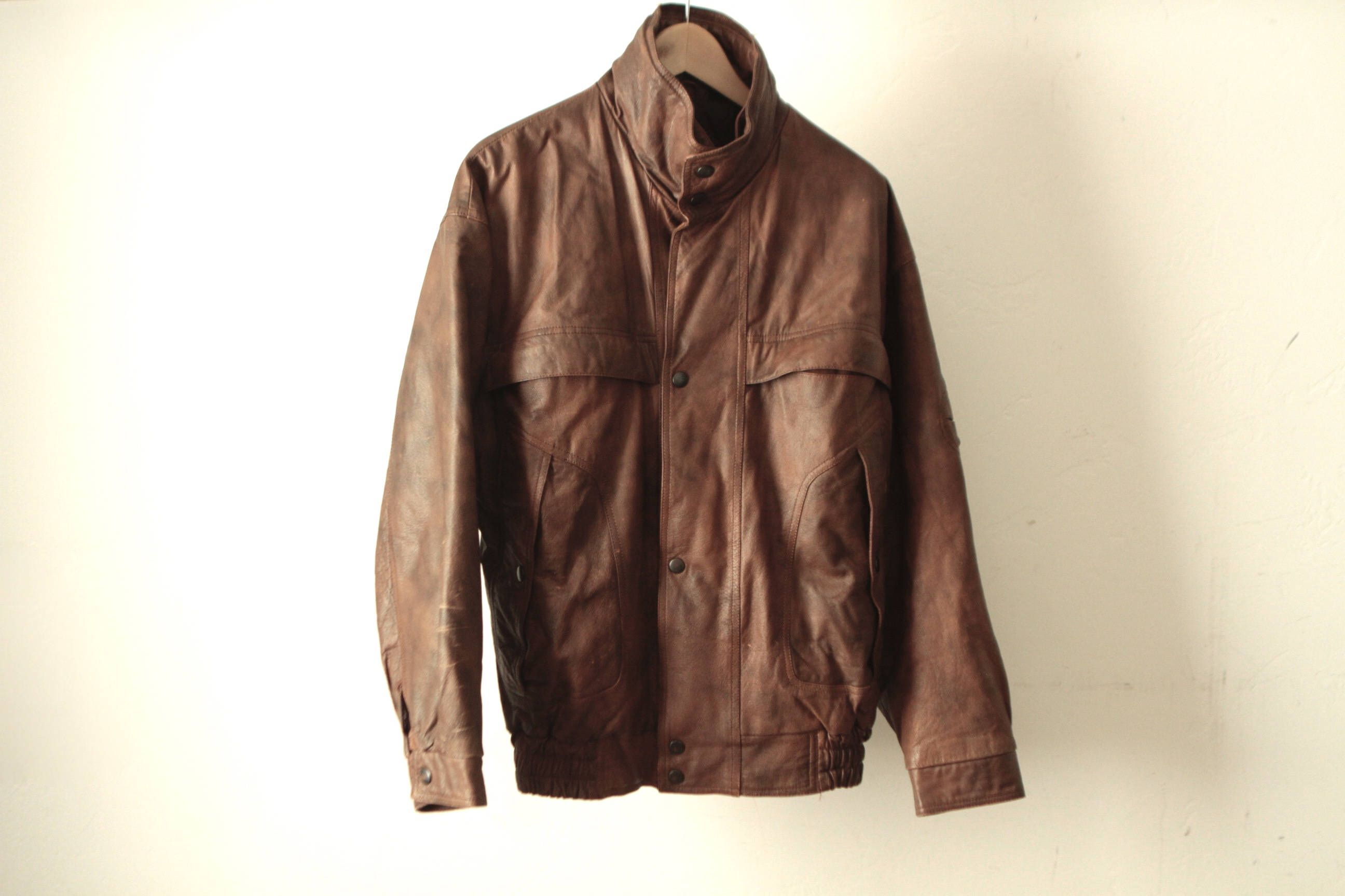 This Item Is Unavailable Etsy Brown Bomber Jacket Men S Coats And Jackets Coats Jackets [ 1728 x 2592 Pixel ]