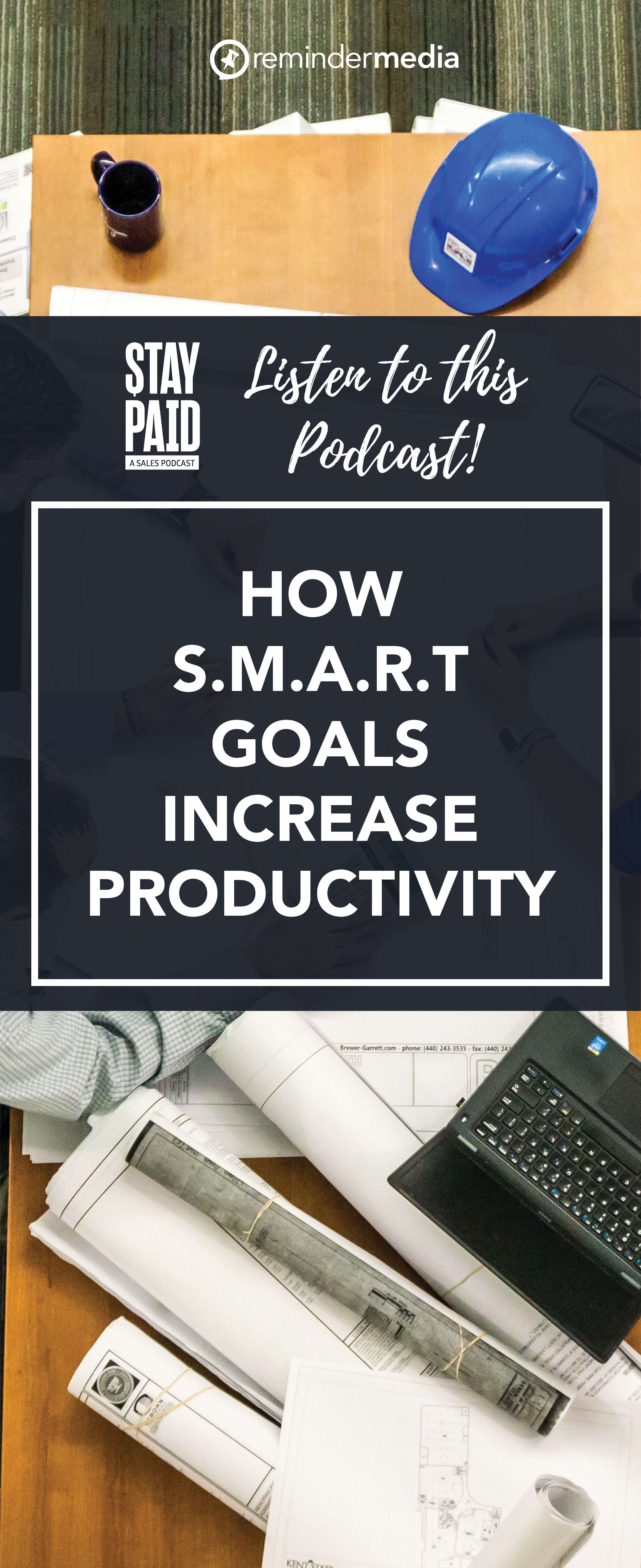 Ep 15 How S M A R T Goals Increase Productivity Remindermedia Smart Goals Goals Increase Productivity