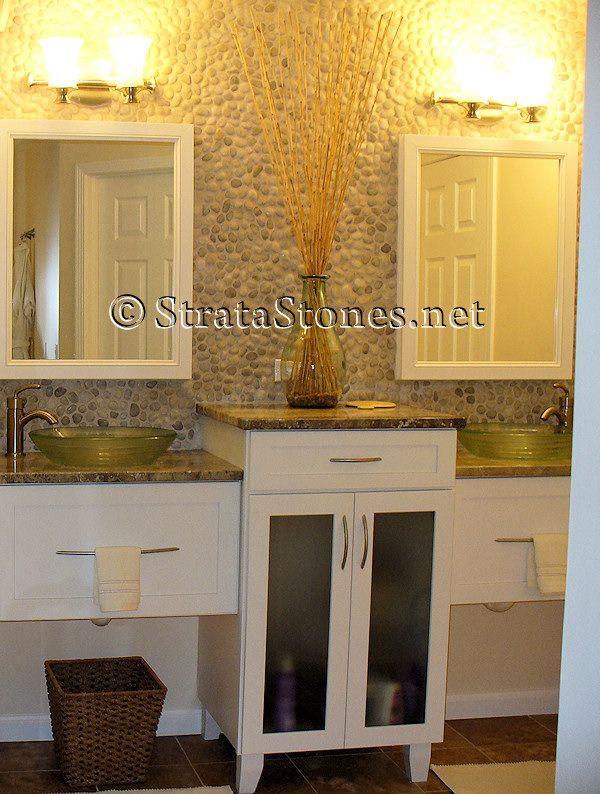 35 best ideas about bathrooms on pinterest pebble tile shower pebble floor and mosaics