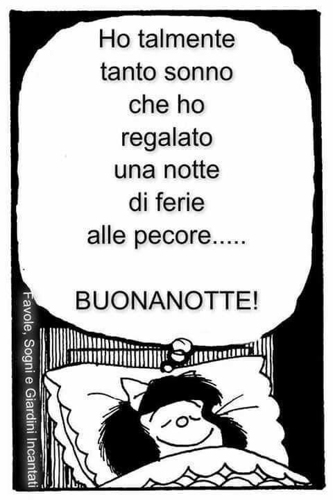 Buonanotte Divertente Mafalda 1 Buona Notte Divertente