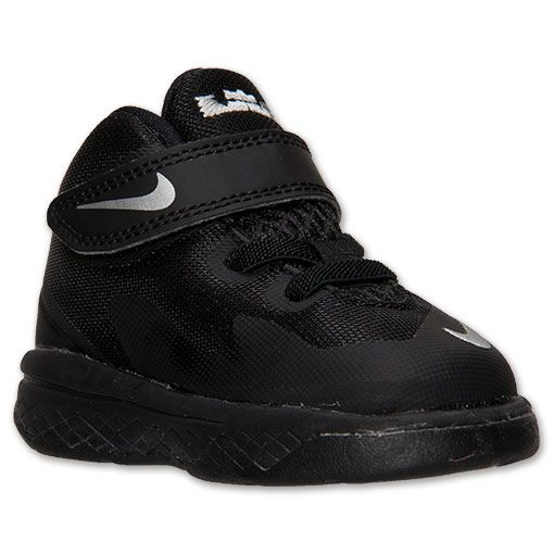 Boys' Toddler Nike Zoom LeBron Soldier 8 Basketball Shoes | Finish Line |  Black/