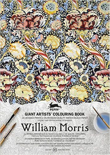 William morris giant artists colouring books amazon pepin william morris fandeluxe Choice Image