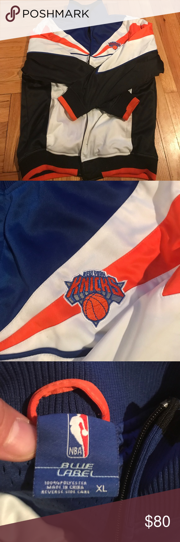New York Knicks Varsity Jacket Great condition nba Jackets