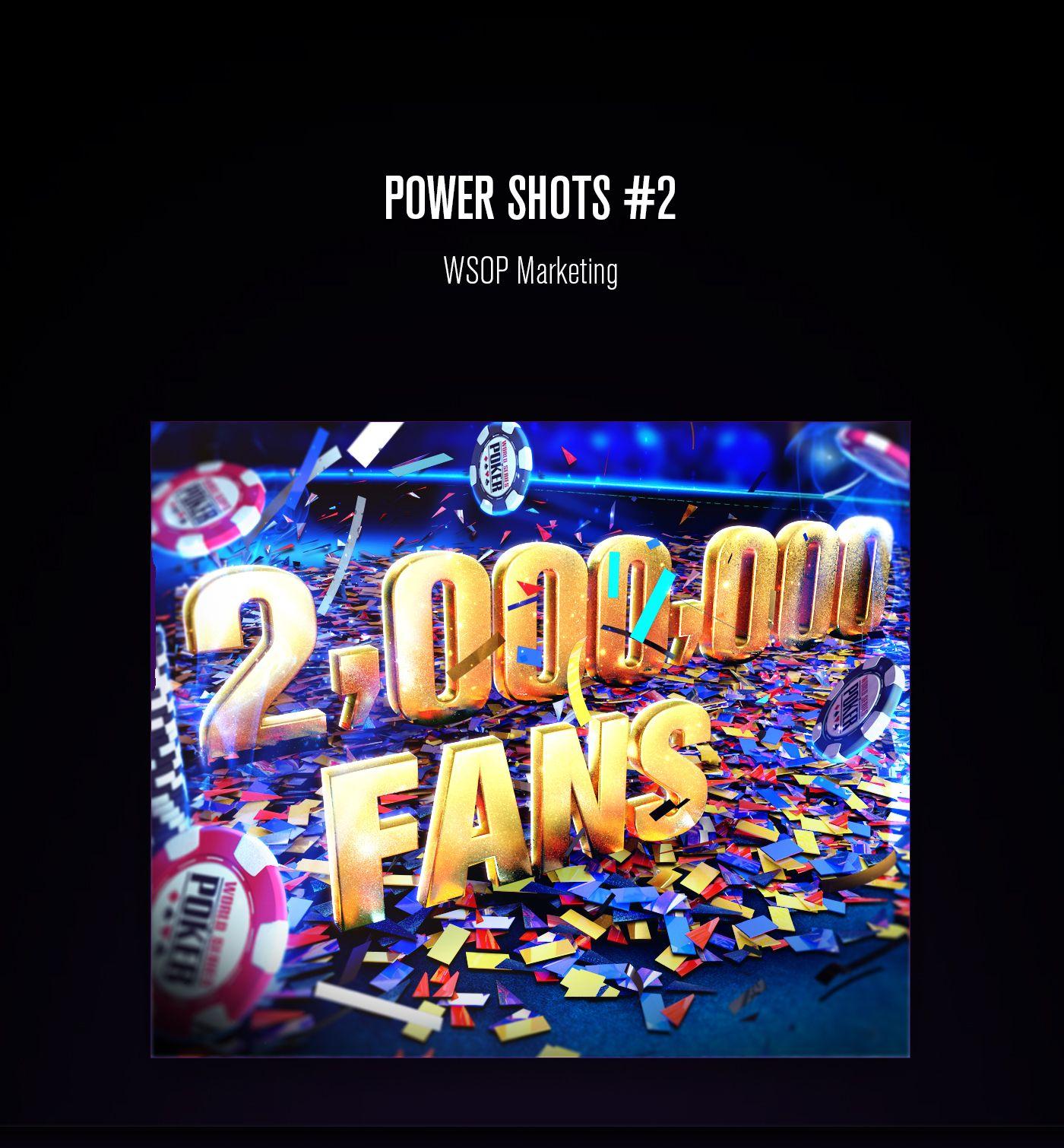 WSOP Power Shots 2 on Behance Power, Poker, Playing cards