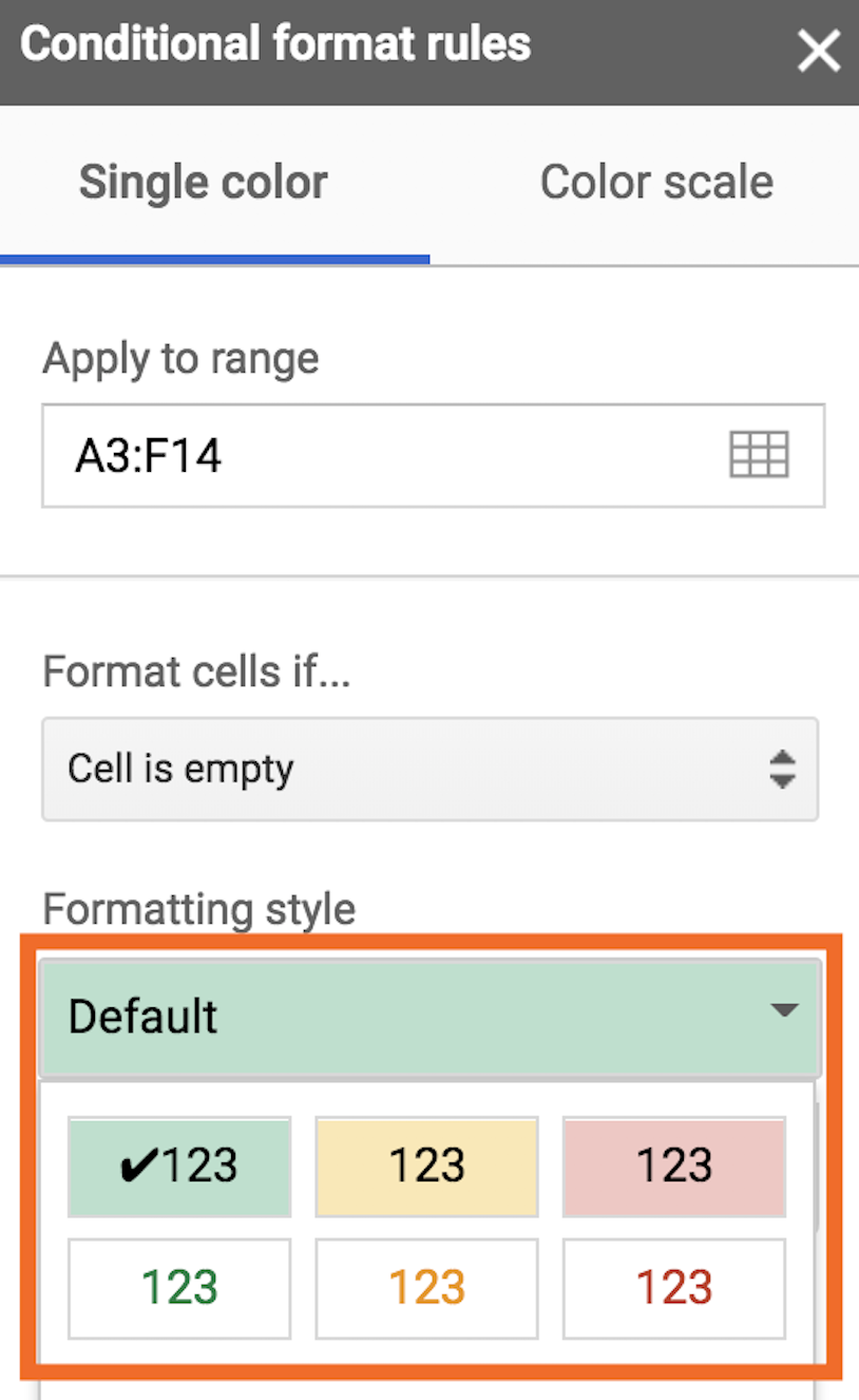 How To Use Conditional Formatting In Google Sheets Google Sheets Google Tricks Google