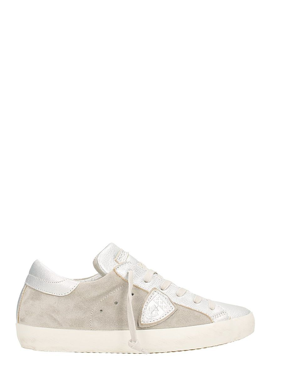 Paris Leather & Suede Sneakers