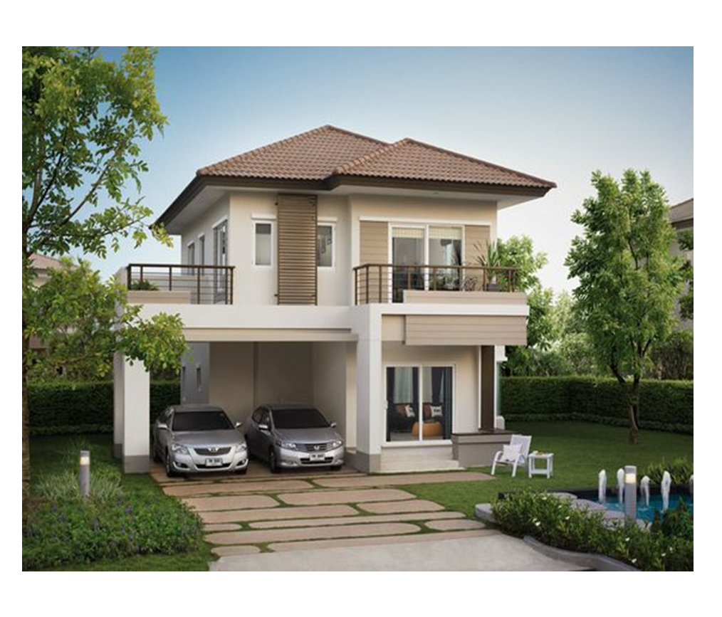 The Small Two Story House Is One Of The Most Popular House Design
