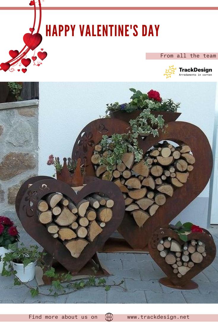 Trackdesign Team Wishes You A Happy And Wonderful Valentine S Day Love Loveincorten Corten Saintvalentin Edelrost Gartendekor Gartendekoration