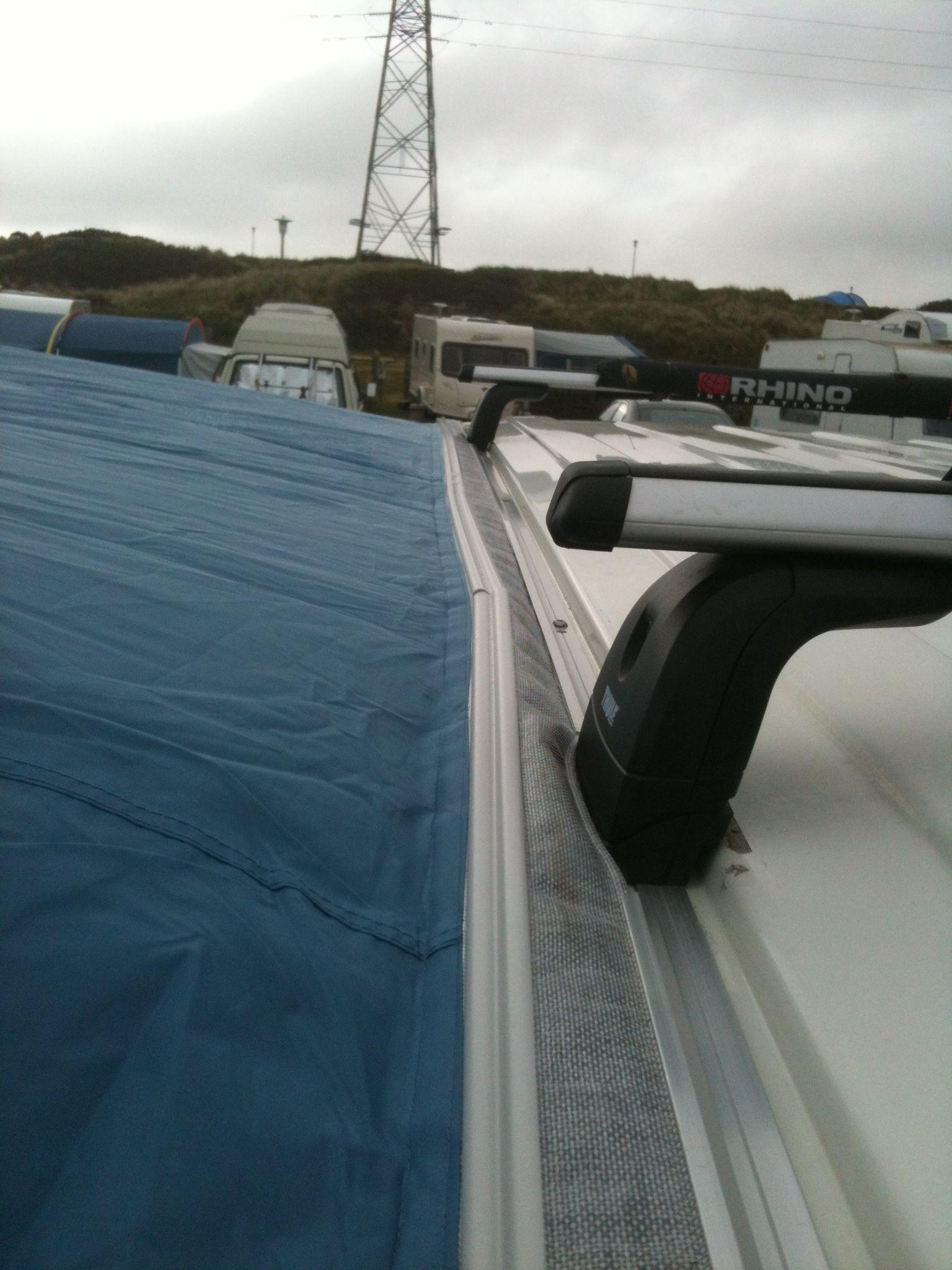 Vw T5 Bolt On Awning Rail For Roof Rack Camper