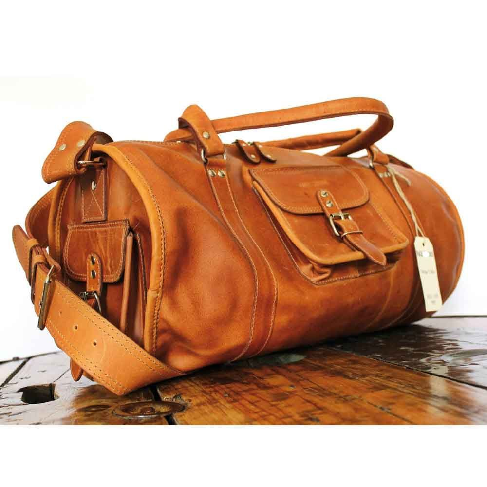 sac de voyage xl en cuir naturel souple sacs sac. Black Bedroom Furniture Sets. Home Design Ideas