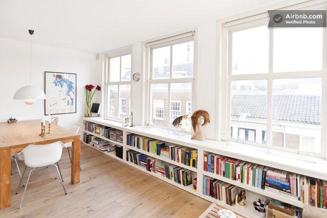 boekenkast onder het raam | MY INTErIOR DEsIGN | Pinterest | Window ...
