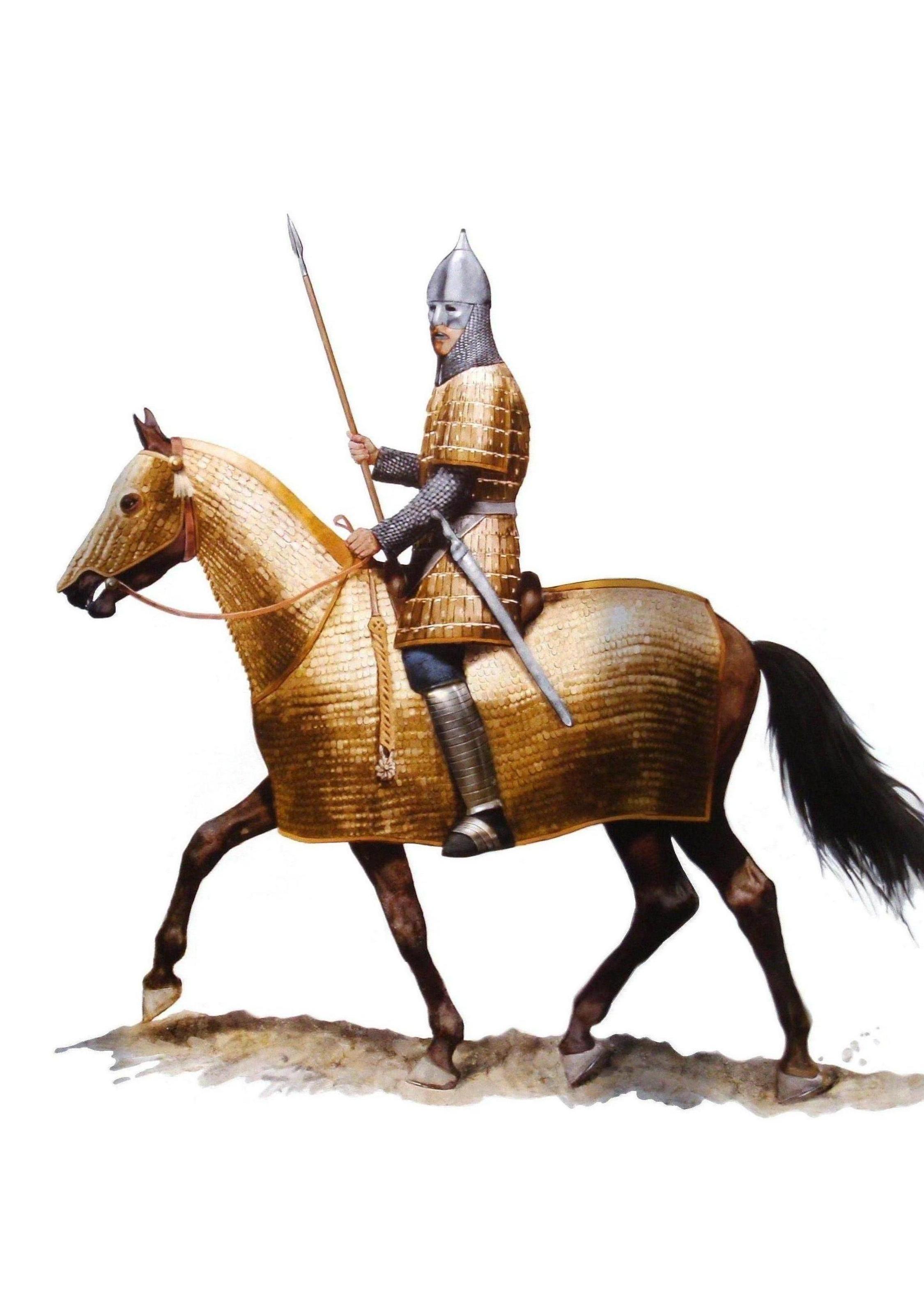 Sassanid Persian Cavalry - Sassanian Savaran in Four Horn