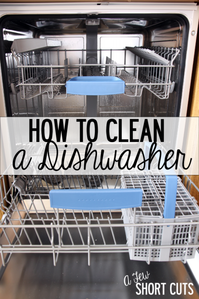 How To Clean A Dishwasher Homemade Cleaning Solutions Clean Dishwasher Cleaning