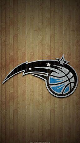 Orlando Magic Mobile Hardwood Logo Wallpaper Orlando Magic Magic Mobile Orlando Magic Basketball