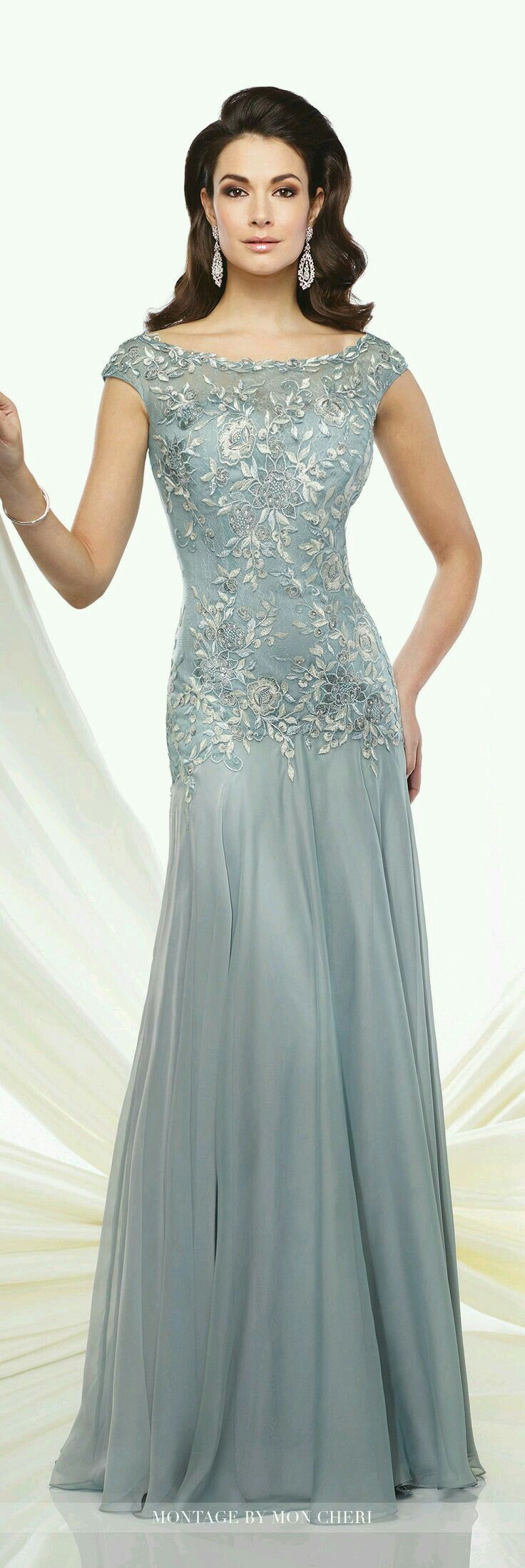 Pin by Gladys Paulino on Gris | Pinterest | Bride dresses, Gowns and ...