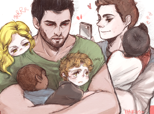 Cannon: The pack gets turned to babies and Stiles and Derek