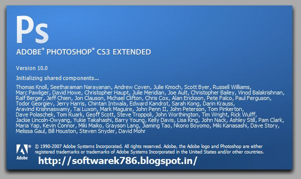 Photoshop software free download cs3