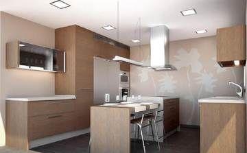 Resultado de imagen de iluminaci n cocina lamparas - Iluminacion encimera cocina ...