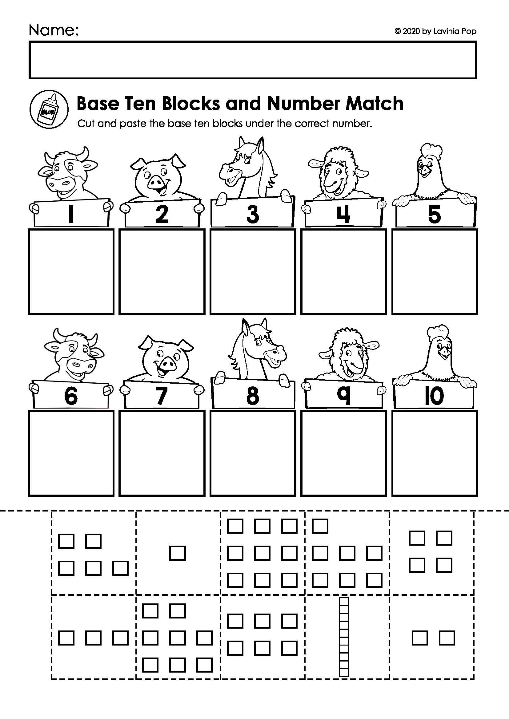 Farm Math Amp Literacy Worksheets Amp Activities No Prep