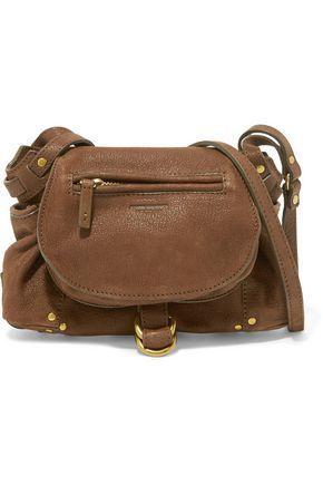 a272f409b4 JÉRÔME DREYFUSS WOMAN TWEE MINI TEXTURED-LEATHER SHOULDER BAG BROWN.   jérômedreyfuss  bags  shoulder bags  leather  canvas