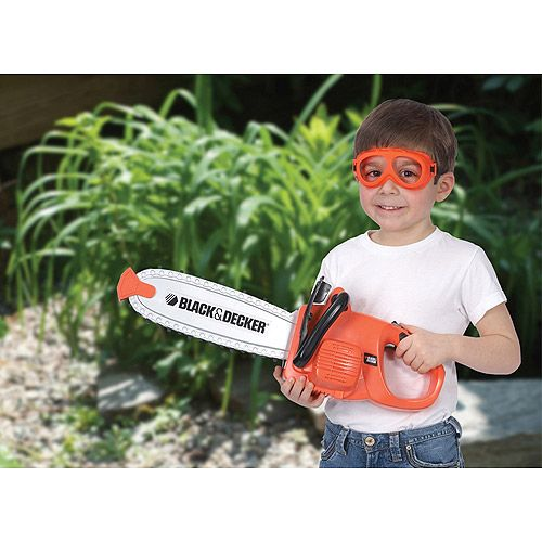 Black Amp Decker Toy Chainsaw My Kidos Isaiah Toy