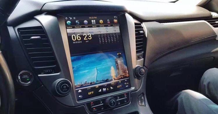Px6 Android 8 1 Chevrolet Tahoe Suburban 2015 2018 Gmc Yukon