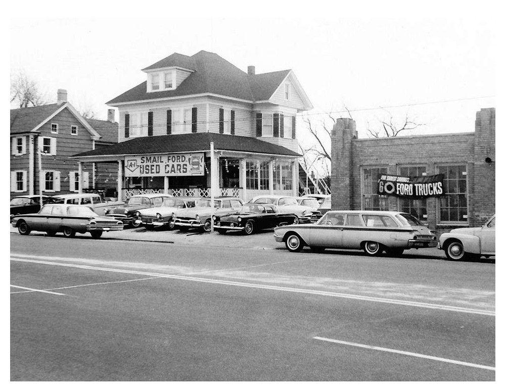1960 Smail Ford Dealership, Greensburg, Pennsylvania New