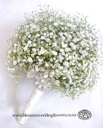 Baby S Breath Posy Babys Breath Bouquet Babys Breath Wedding Wedding Flowers