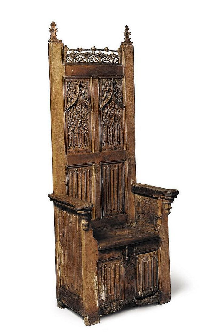 Pin by John Wainscott on Medieval Furniture   Woodworking furniture, Gothic chair, Gothic furniture
