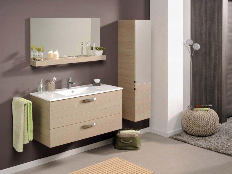 meuble salle de bain rangement leroy merlin