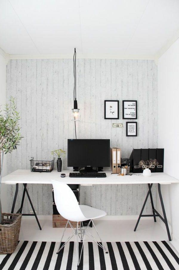 Skandinavisches modell vom arbeitszimmer mit interessanten möbeln arbeitszimmer im skandinavischen stil 29 coole ideen
