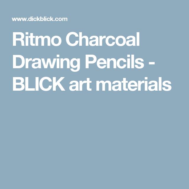 Ritmo Charcoal Drawing Pencils - BLICK art materials