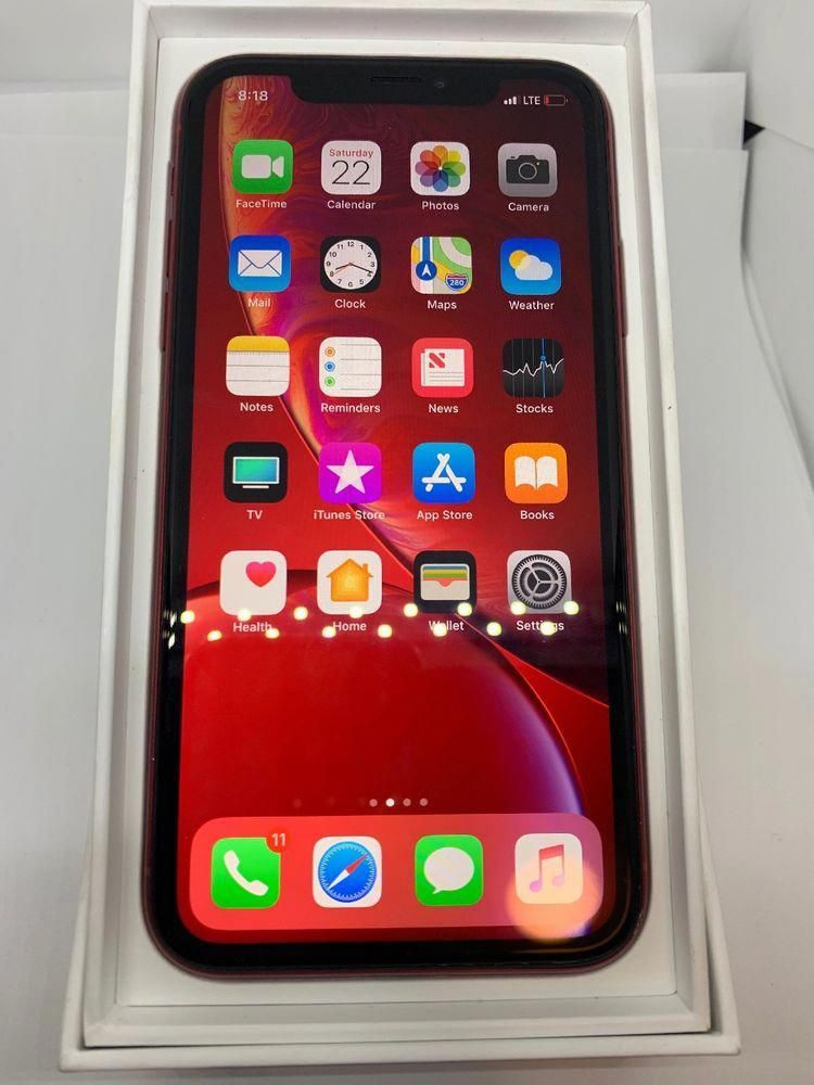 Apple iPhone XR 128GB (PRODUCT)RED (Unlocked) A1984