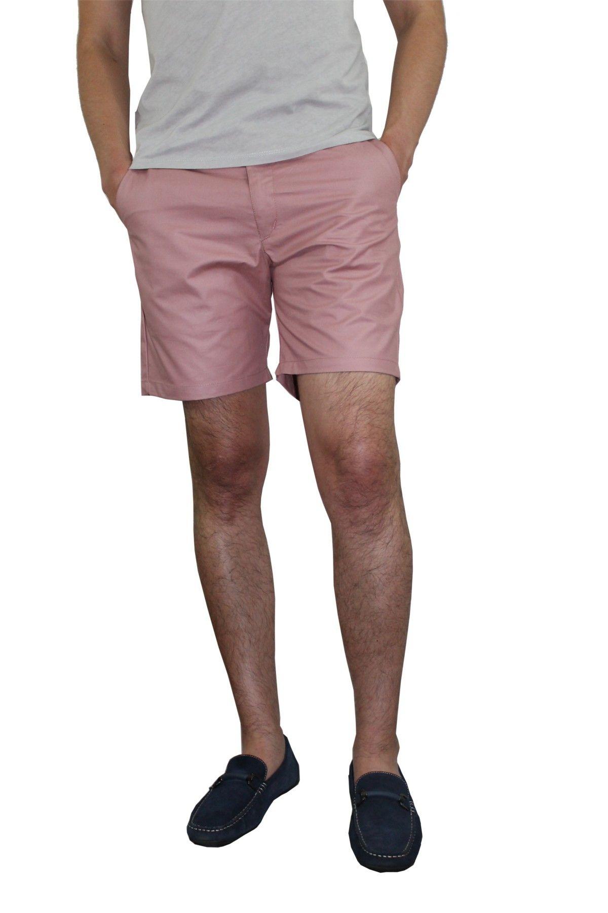 121fcce0 Bermudas Slim Manly Palo Rosa Bermudas, Moda Hombre, Pantalones, Playa,  Hombres,