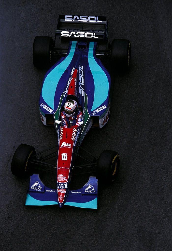 Andrea de Cesaris, SASOL Jordan-Hart, 1994 Monaco Grand Prix