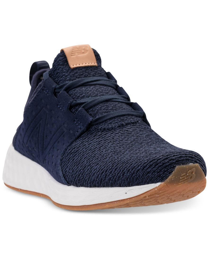 New Balance Men's Fresh Foam Cruz Running Sneakers from