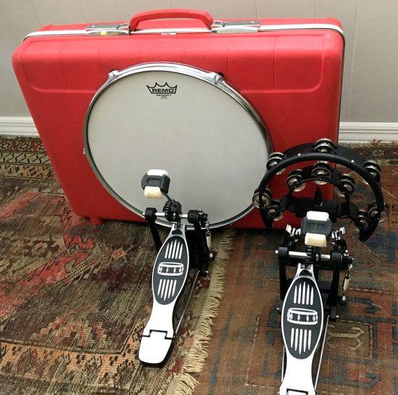 Maleta Personalizada Bombo De Una Maleta Por Bridgmanbrothers Percussion Drum Cases Drum And Bass