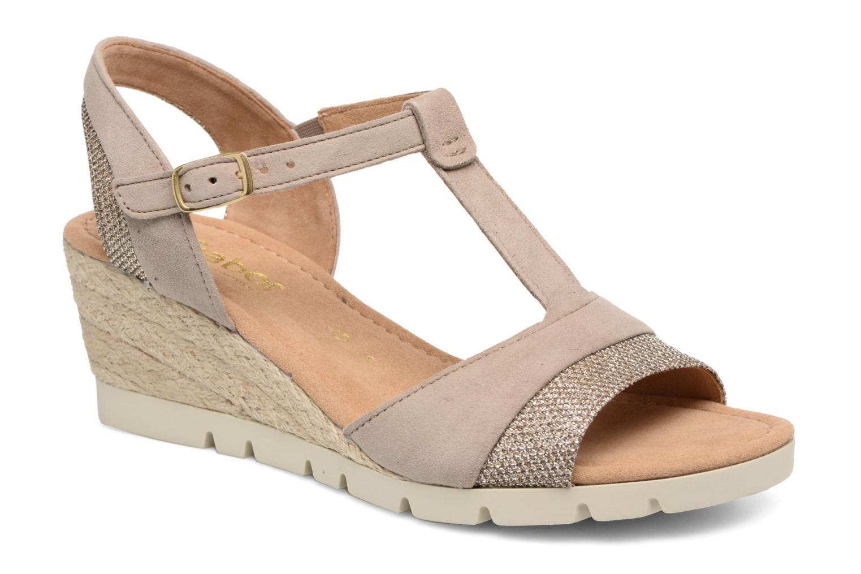 ausgereifte Technologien Weltweit Versandkostenfrei hohe Qualität Gabor Tunis (Beige) - Sandalen chez Sarenza (289831) | Shoes ...