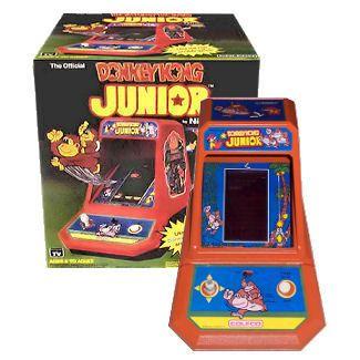 Coleco Mini Donkey Kong Junior Arcade Game Vintage Video