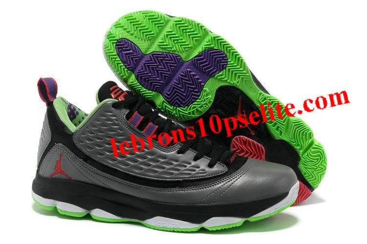 Cheap Jordan Shoes. Jordan AE Wolf Grey/Bright Crimson-Dark Grey-Electric  Green