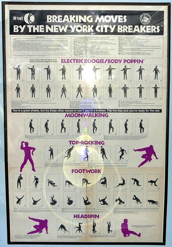 Hip Hop Dance Moves Names List